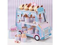 Talking Tables Ice Cream Party Decorations | Ice Cream Cart Party Décor | Great For Kids Party, Birthday Party And Summer Décor | Paper