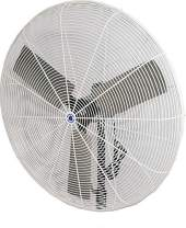 "Schaefer 36CFO 36"" Fixed-Mount Circulation High Airflow Fan, Industrial Made in USA, 2-Speed, 1/2 HP, 12120CFM, White"