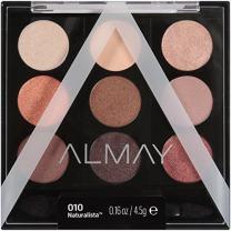 Almay Palette Pops, Naturalista, 0.16 oz, eyeshadow palette