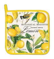 Michel Design Works Cotton Potholder, Lemon Basil