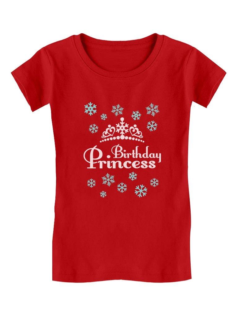 Birthday Princess Shirt Adorable Toddler Kids Birthday Gift Girls Fitted Tshirt
