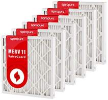 SpiroPure 30X32X2 MERV 11 Geothermal Air Filters - Made in USA (6 Pack)