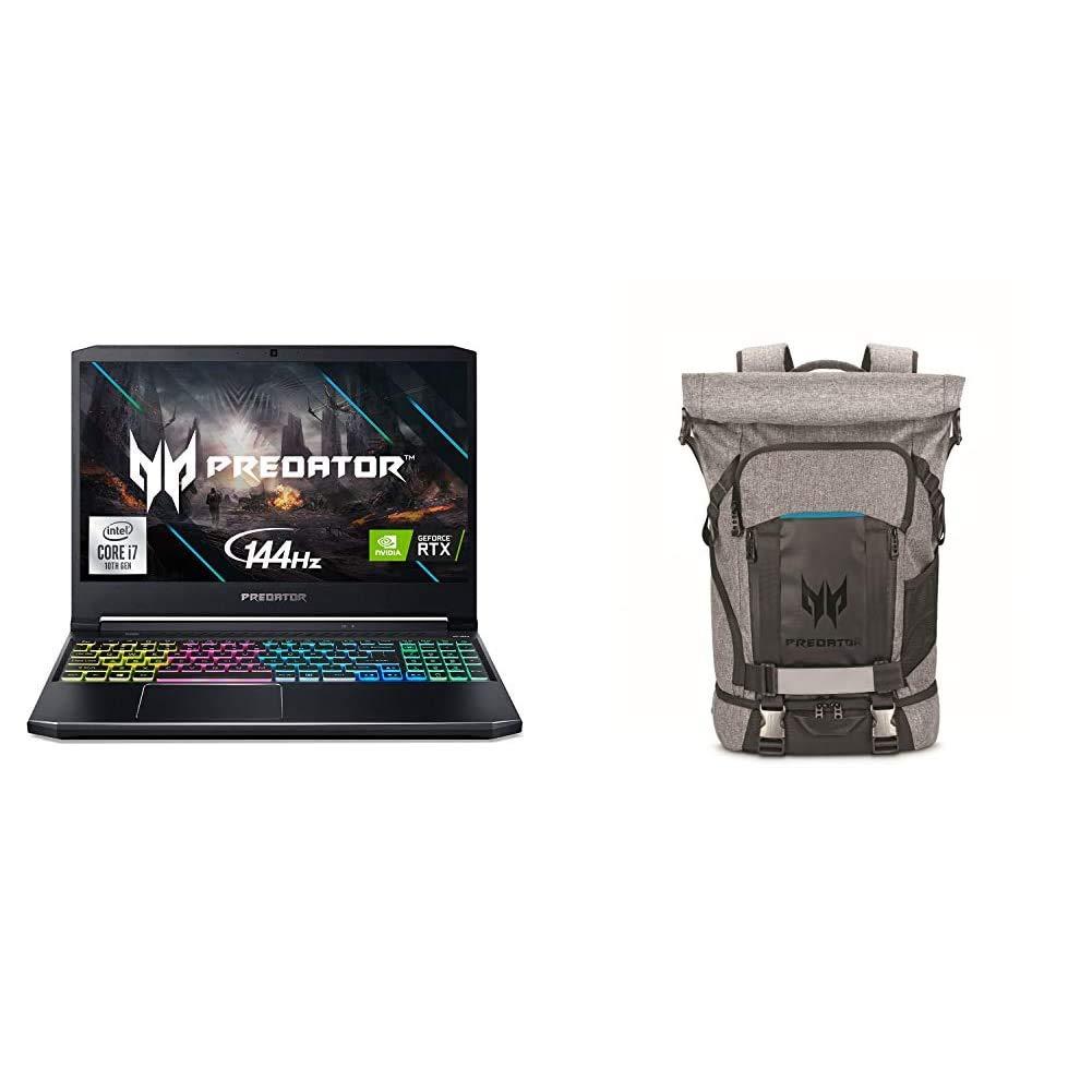 "Acer Predator Helios 300 Gaming Laptop, Intel i7-10750H, NVIDIA GeForce RTX 2060 6GB, 15.6"" Full HD 144Hz 3ms IPS Display, 16GB Dual-Channel DDR4"