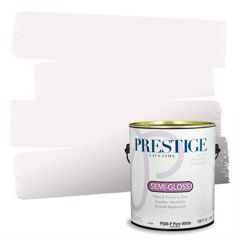 Prestige Interior Paint and Primer in One, 1-Gallon, Semi-Gloss, Abbey