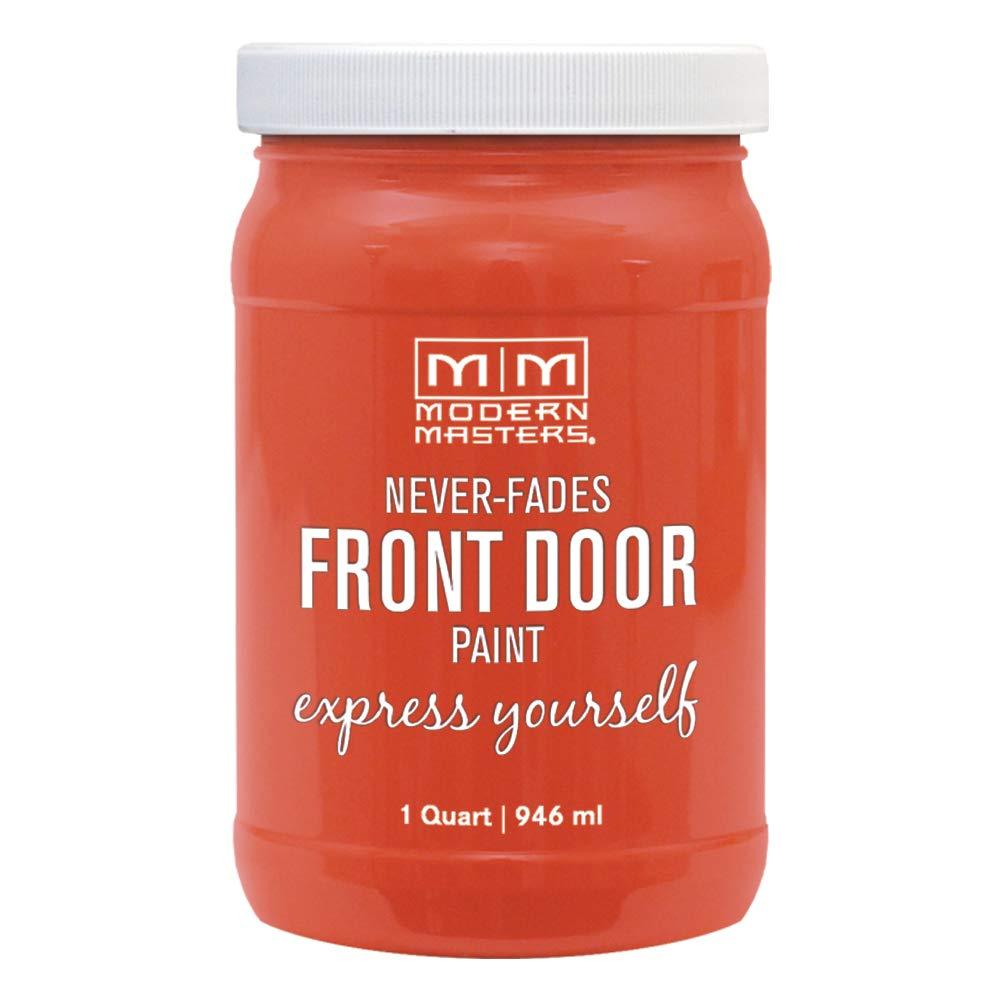 Modern Masters 275276 Front Door Paint, 1 Quart, Satin Cheerful