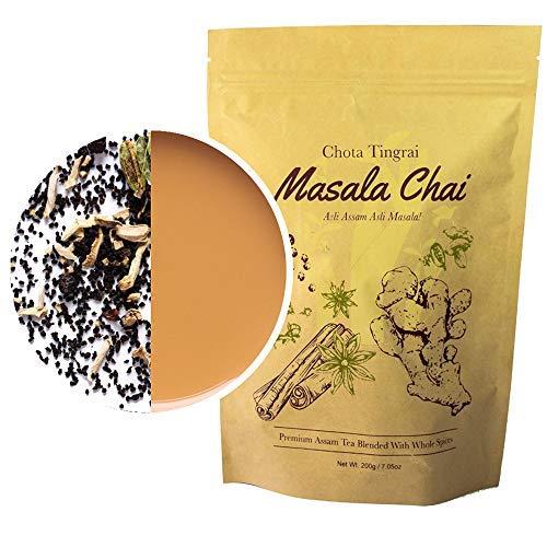 Organic Chai Tea by Mana Organics – A Masala Chai Tea Made with Whole Masala Spice: Cinnamon, Cardamom, Cloves, Pepper, Staranise and Ginger. An Authentic Indian Chai Tea Recipe.