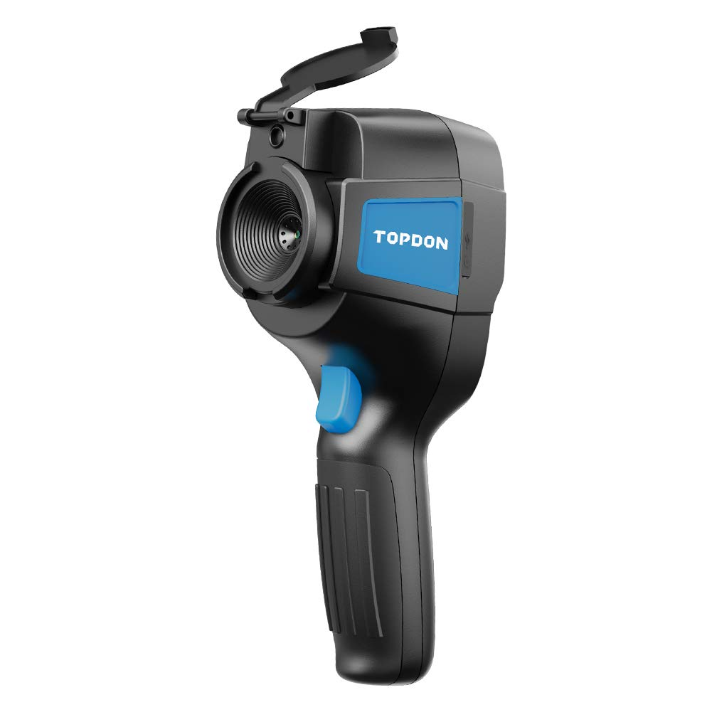 """IR Infrared Thermal Imaging Camera ITC629 TOPDON -4°F(-20℃) to 842°F (450℃) Range 0.07°C Sensitivity 220160 Resolution 3.2"""" Color Display Screen Battery Included Lightweight"""