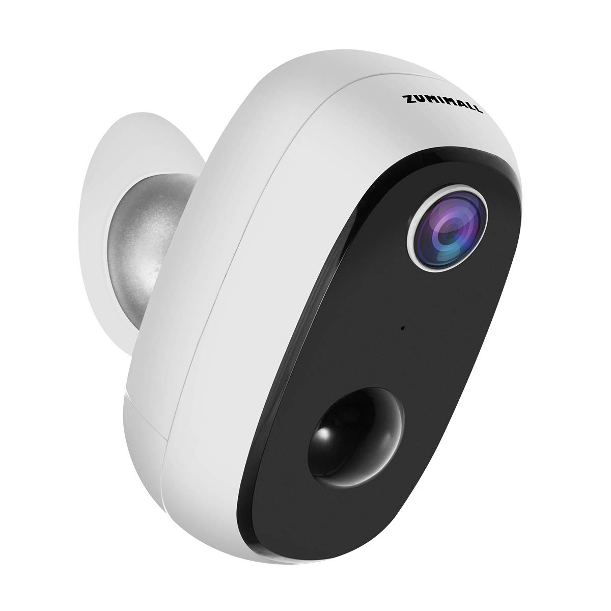 Wireless Rechargeable Battery Powered WiFi Camera, Outdoor Security Camera with 2-Way Audio, 1080P Home Surveillance Camera with Motion Detection Night Vision, Cloud Storage/SD Slot