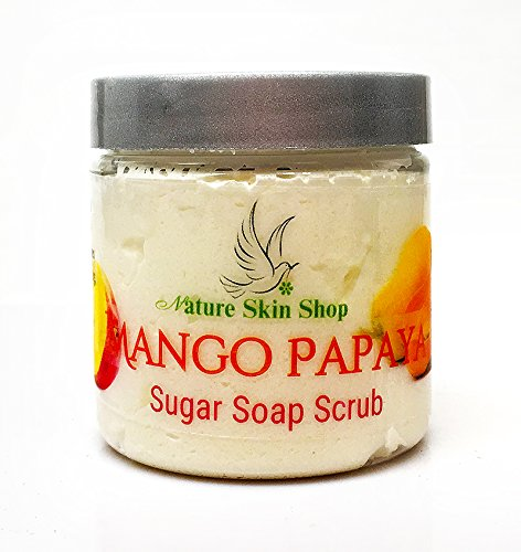 Sugar Scrub Soap Whipped Cream (Mango Papaya)