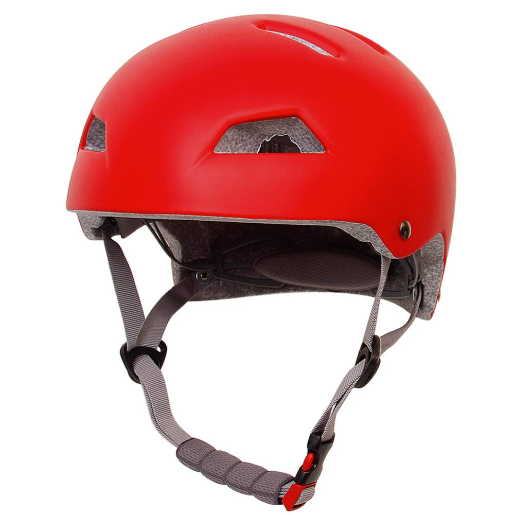aomigell Bike and Skateboard Helmet – Adjustable from Youth to Adults Size, CPSC Certified Sport Helmet for Cycling Scooter Skating