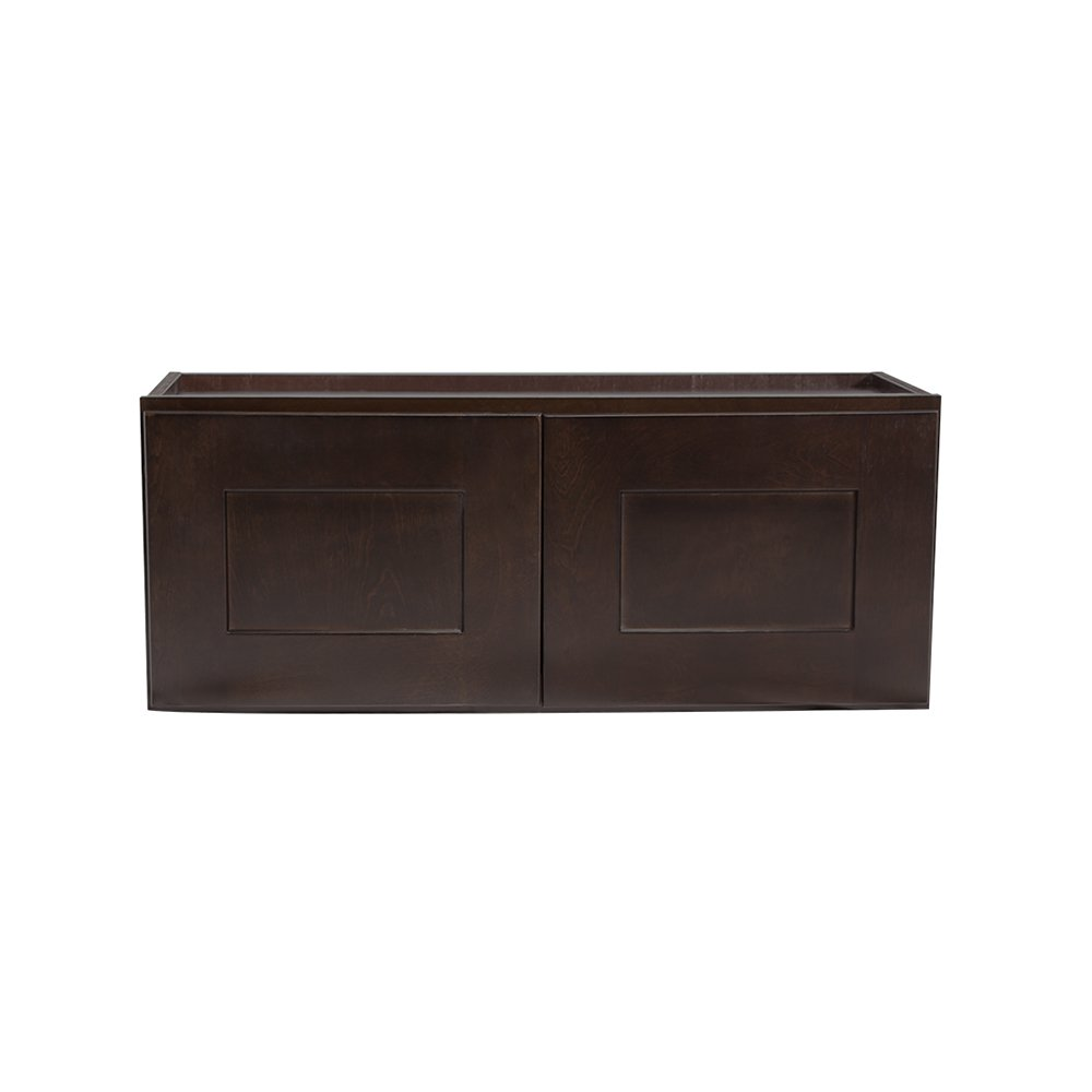 Design House Kitchen Cabinets-Wall, 12 in, Espresso