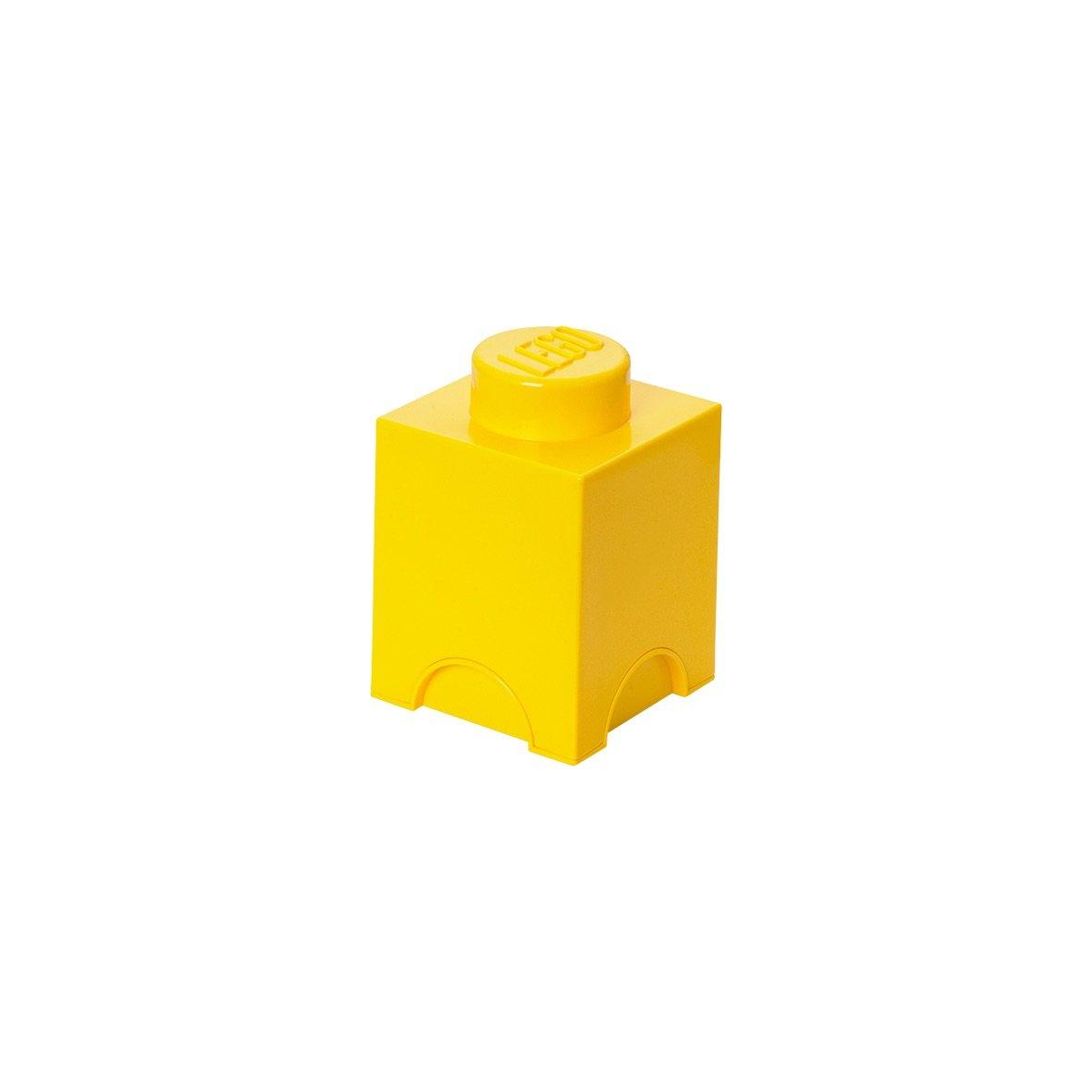 Pantone Universe Lego Storage Brick 1, Yellow