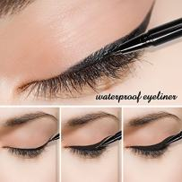Docolor Waterproof Eyeliner Pen Super Slim Liquid Eyeliner Eye Liner Gel Black