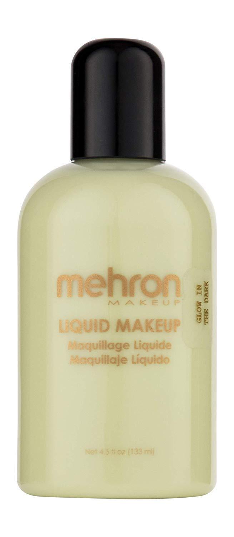 Mehron Makeup Liquid Face & Body Paint (4.5 ounce) (Glow In The Dark)