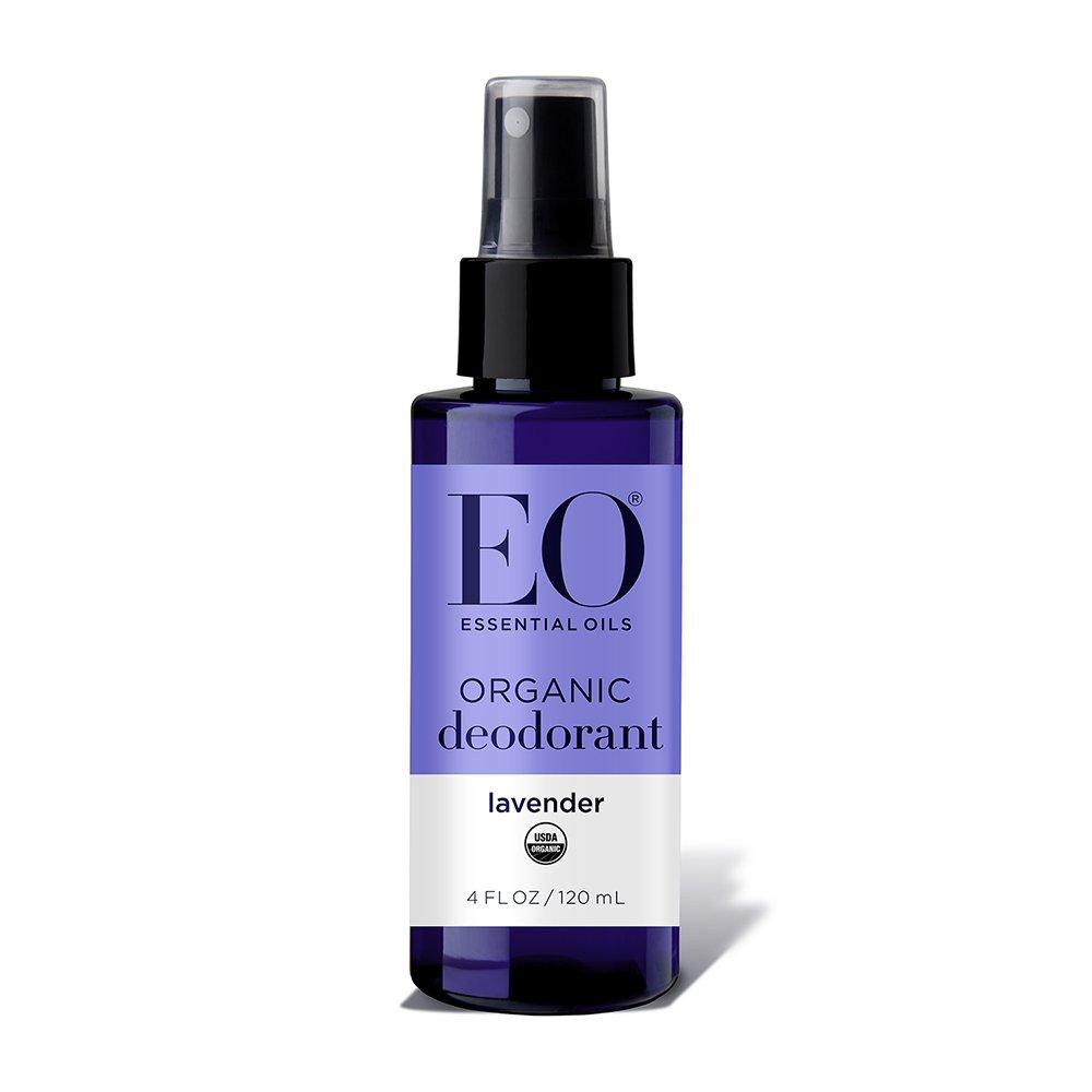 EO Organic Deodorant Spray All Day Fresh, Lavender, 24 Count