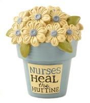 Blossom Bucket Nurses Heal' Flower Pot W/Flowers