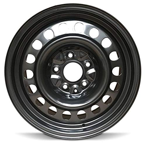 "Road Ready Car Wheel for 2004-2008 Chrysler Pacifica Steel 17 Inch 5 Lug Full Size Spare 17"" Rim Fits R17 Tire - Exact OEM Replacement - Full-Size Spare"