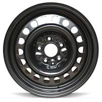 """Road Ready Car Wheel for 2004-2008 Chrysler Pacifica Steel 17 Inch 5 Lug Full Size Spare 17"""" Rim Fits R17 Tire - Exact OEM Replacement - Full-Size Spare"""