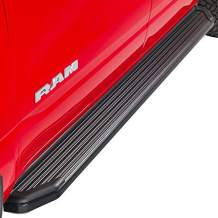 Ionic 41 Series Black Running Boards Compatible with 2004-2014 Ford F150 Regular Cab Only Truck Side Steps