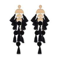 Beaded Statement Tassel Earrings for Women,Handmade Earring, Bohemian Dangle Fringe Earrings for Women, Idea Gift for Sister, Mom and Friend with Gift Box