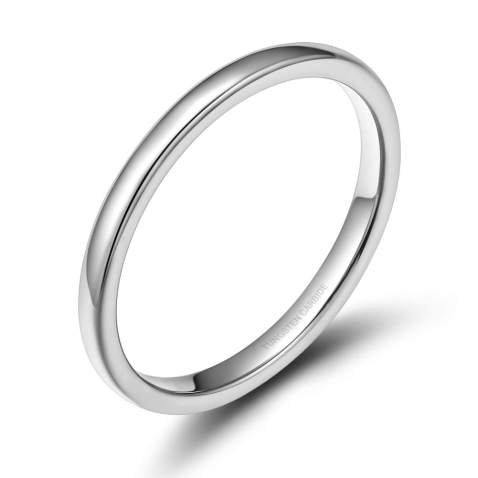 Thickness 2mm 4 Pack Width 5.6mm ThunderFit Silicone Rings Wedding Bands for Women