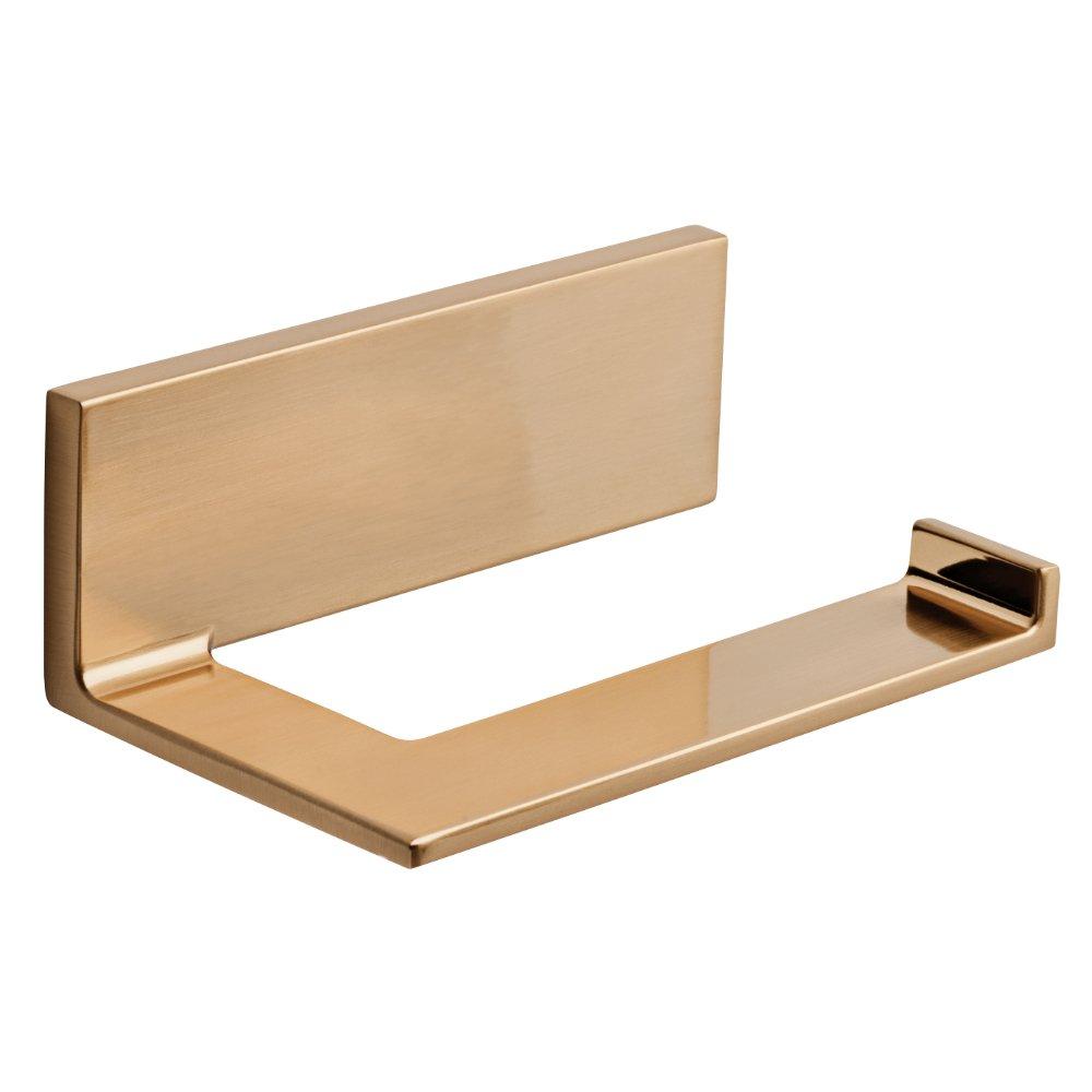 Delta Faucet Bathroom Accessories 77750-CZ Vero Toilet Paper Holder, Champagne Bronze