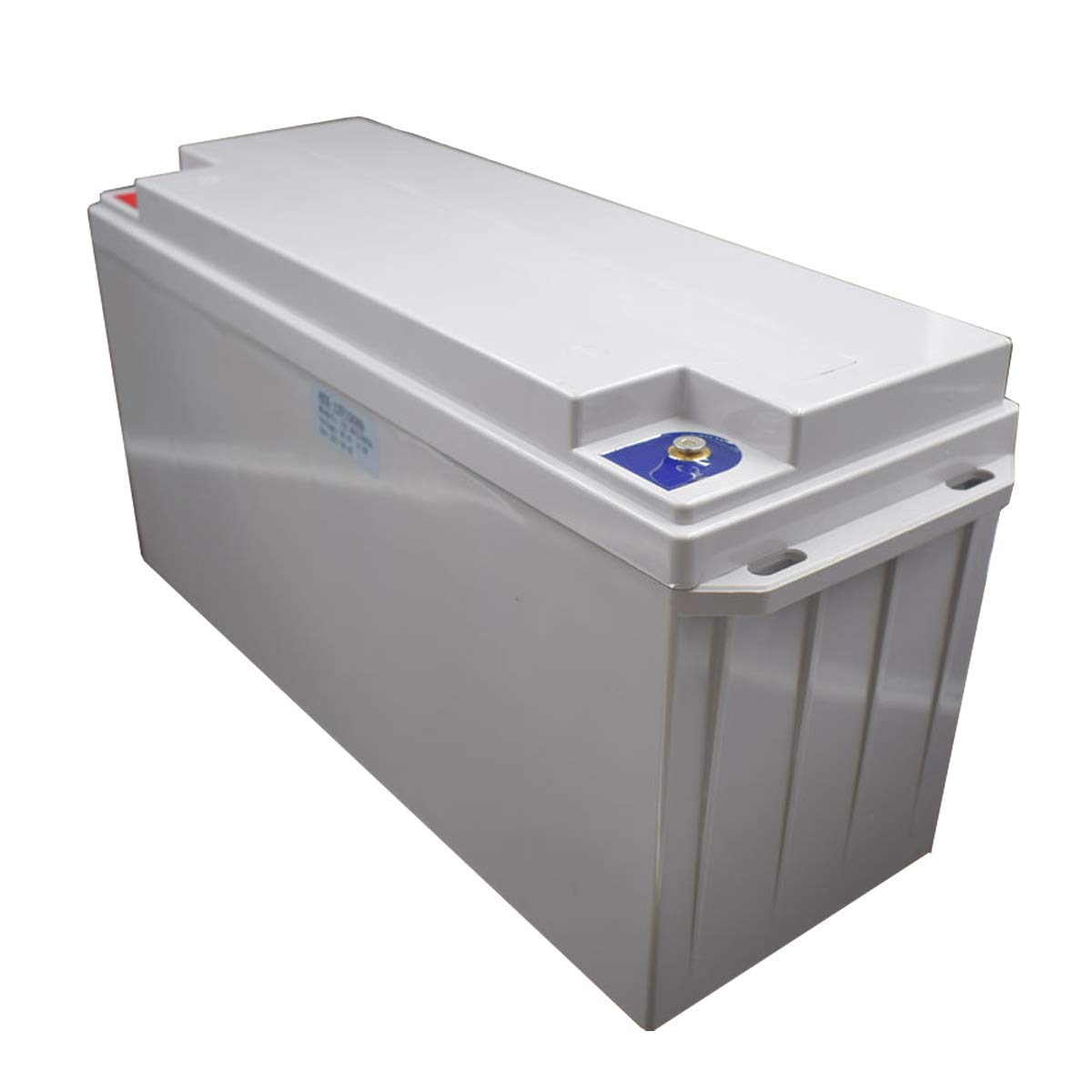 12.8V 100Ah Lifepo4 Lithium Iron Phosphate LFP Battery Pack BMS in for RV EV, Car, Yacht Party, Electric boat, Outdoor Solar System, Water motor Energy Supply, Camping, Light Small Size(White Box)
