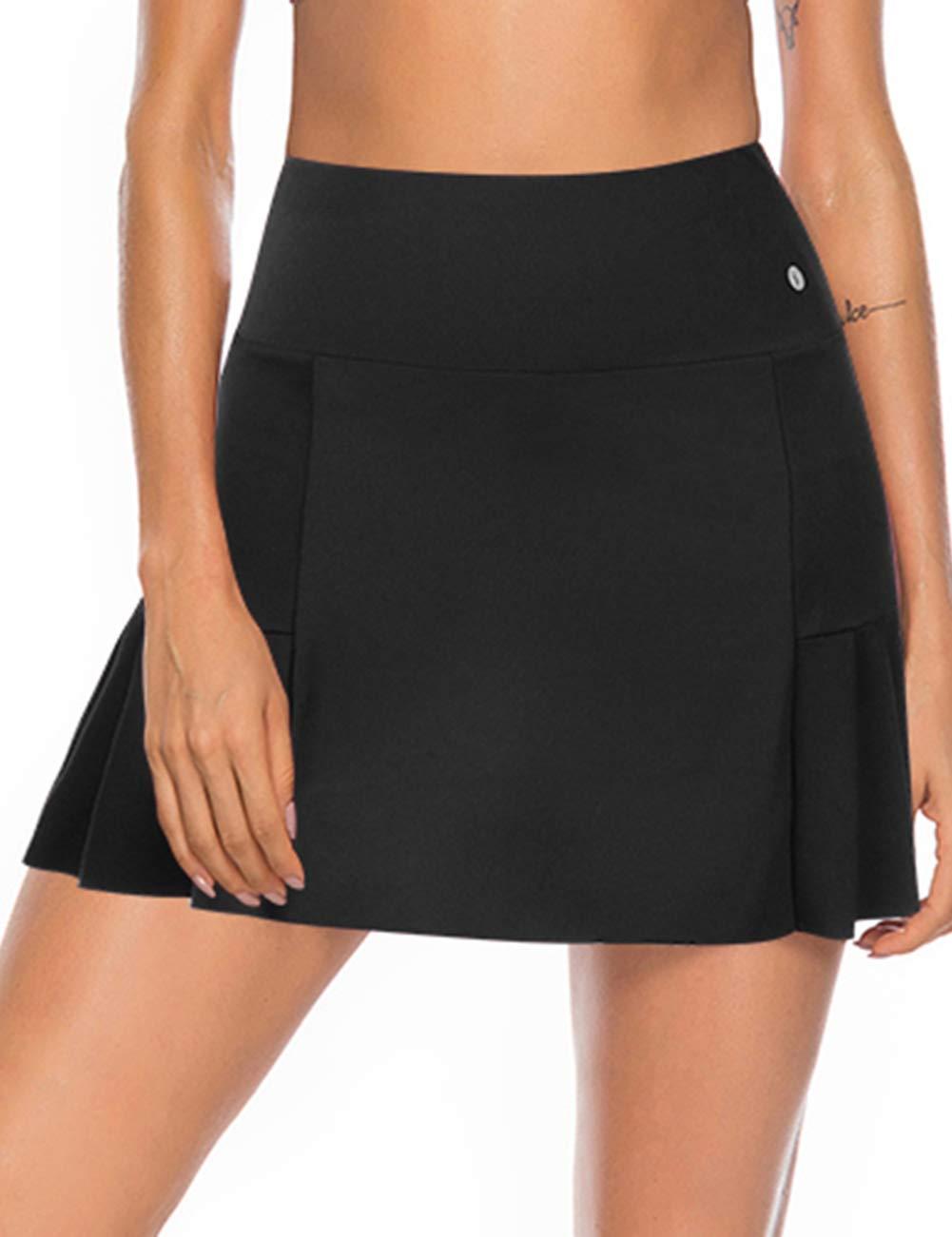 JOYMODE Women's Athletic Skort with Pockets Running Tennis Golf Workout Skirt