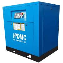 HPDMC Permanent Magnetic Variable Speed Drive 10HP / 39CFM@125PSI / 208-230V/60Hz / Single Phase/Spin-on Oil Separator Energy Efficient Commercial Rotary Screw Air Compressed System