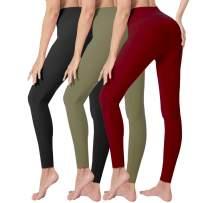 Natural Feelings High Waisted Leggings for Women Slim Yoga Workout Pants for Running Plus Size