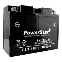 PowerStar Yuasa High Performance Maintenance Free Battery YTX24HL-BS (ATV, Motorcycle, Snowmobile, UTV, Scooter)