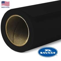 Savage Seamless Background Paper - #20 Black (86 in x 18 ft)