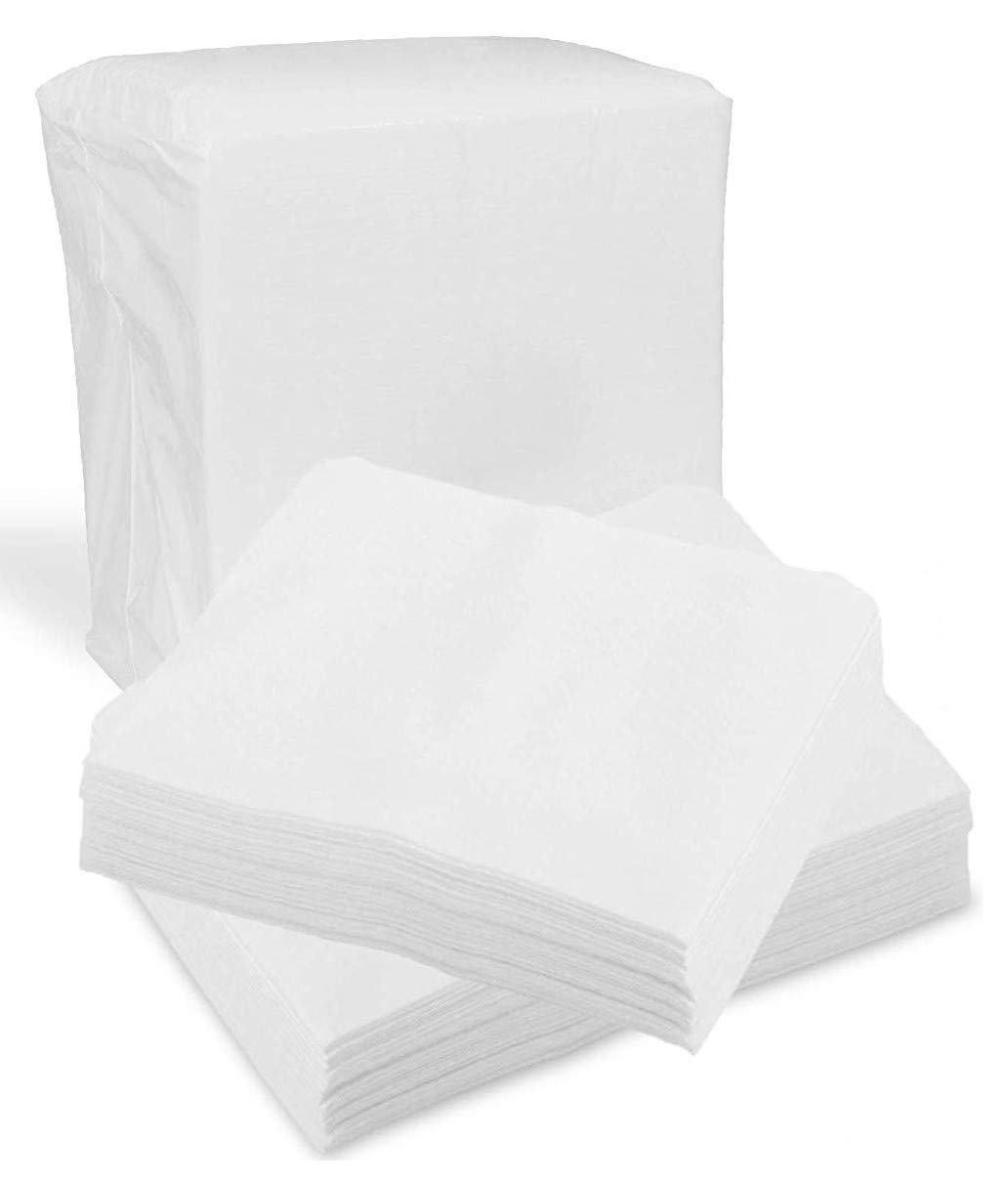 """Disposable Dry Wipes, 200 Pack – Ultra Soft Non-Moistened Cleansing Cloths for Adults, Incontinence, Baby Care, Makeup Removal – 9.5"""" x 13.5"""" - Hospital Grade, Durable – by ProHeal"""