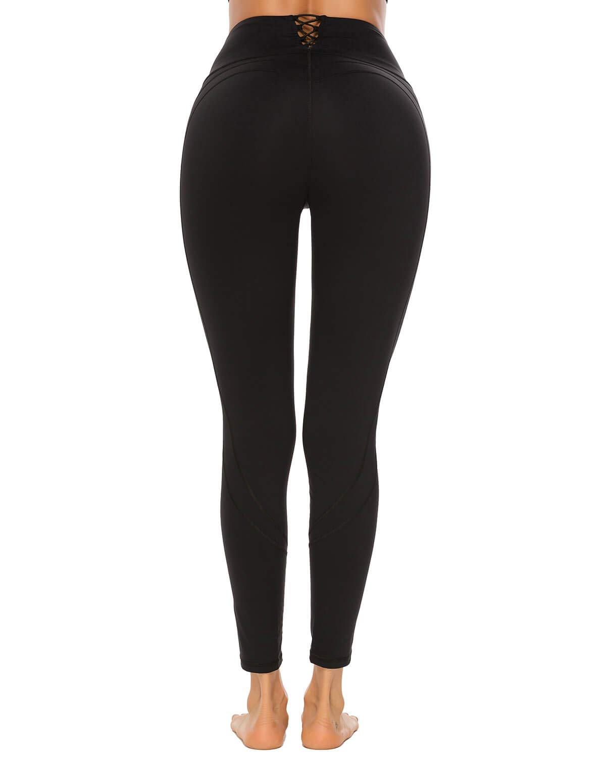 X-HERR Women High Waisted Compression Yoga Pants Sport Gym Workout Leggings Tights