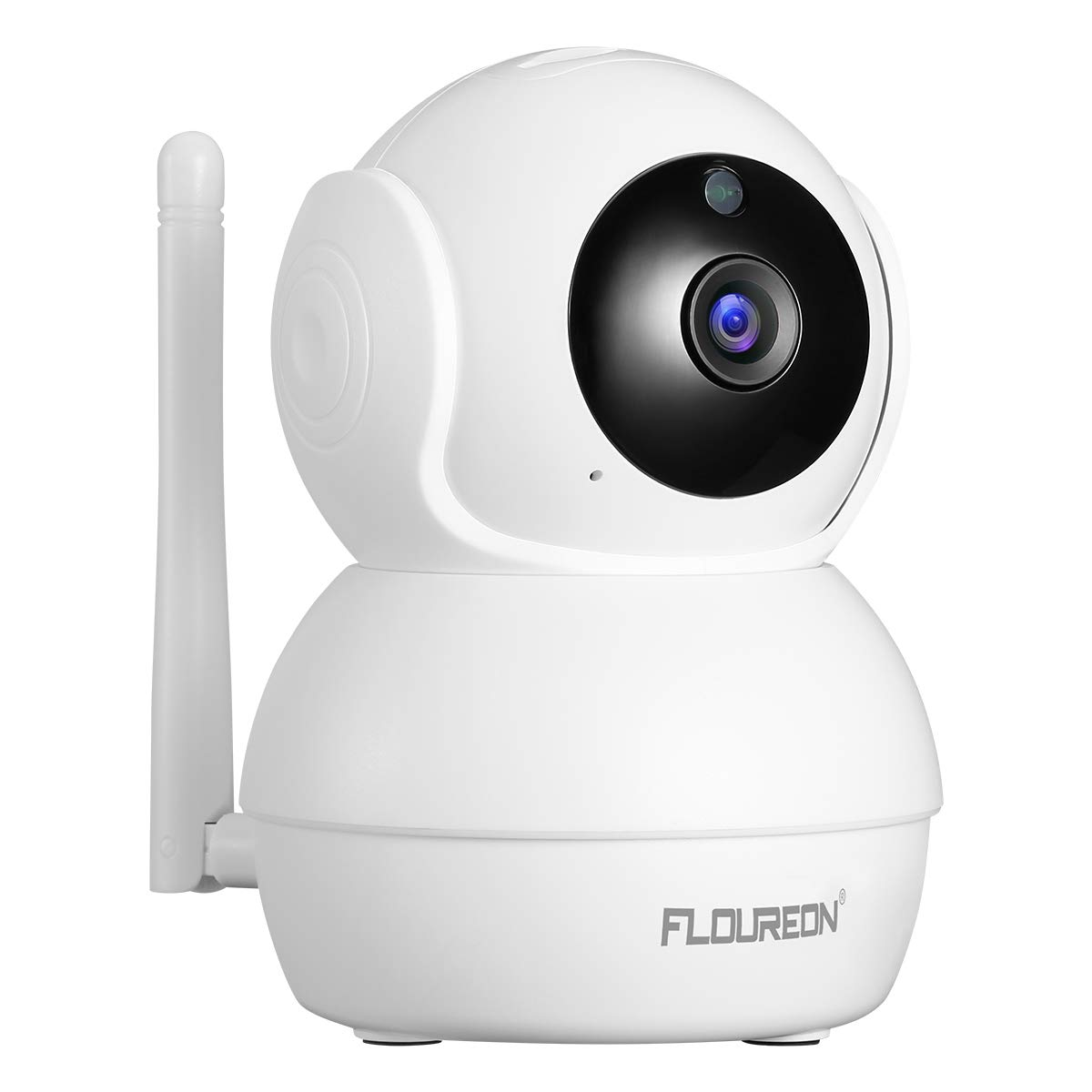 FLOUREON Wireless Security Camera 2.0MP, 1080P HD WiFi Camera Indoor, Home Security Camera CCTV with Pan/Tilt Human Motion Detection Two-Way Audio Night Vision Auto Tracking Remote Access