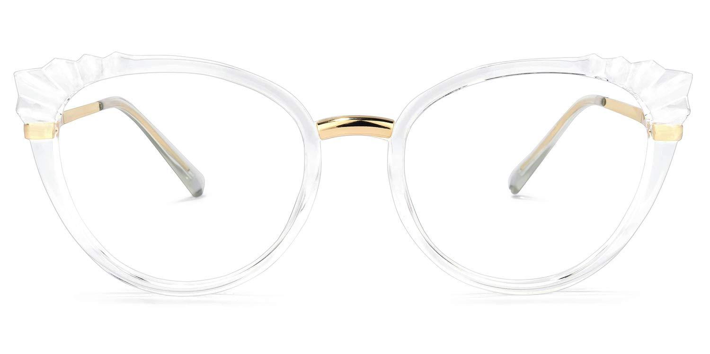 Zeelool Stylish TR90 Oversized Cat Eye Blue Light Blocking Glasses Computer Gaming Eyewear for Women Helina OX616570