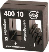 Wiha 40010 Magnetizer or Demagnetizer, Color may vary. Pack of 3