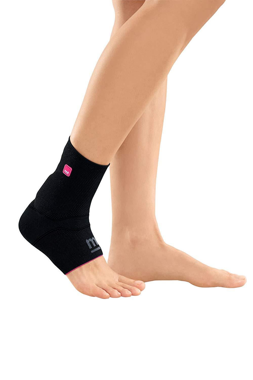 Medi Achimed Knit Ankle Support for Men & Women (Black) Size I