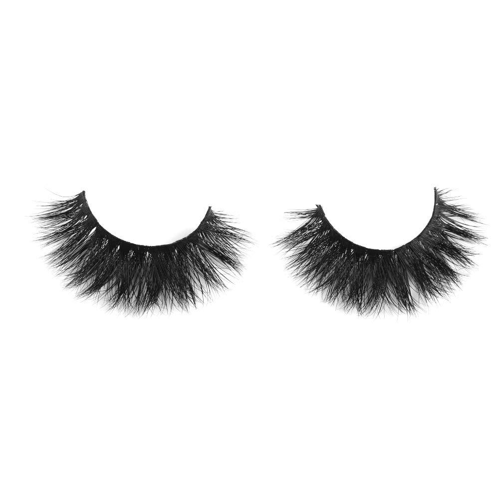 3D Mink Eyelashes Natural Long False Lashes, Luxury Crisscross Fake Eyelashes 100% Mink Fur Eyelashes Handmade Eye Extension Makeup Tools (Y1)
