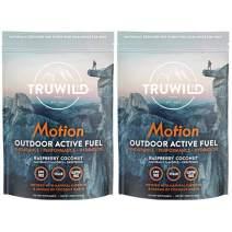 Motion - All Natural Preworkout - Electrolytes, Beet Root, Adaptogens, Peak O2, Vitamins, Natural Caffeine - Clean Energy Powder for Men & Women - 2 Pack