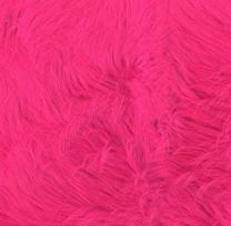 Shannon Faux Fur Luxury Shag Hot Pink
