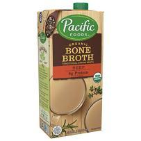 Pacific Foods Organic Beef Bone Broth, 32oz, 12-pack