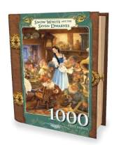 MasterPieces Snow White and The Seven Dwarves Book Box Jigsaw Puzzle, Art by Scott Gustafson, 1000-Piece