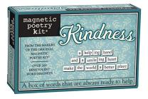 Magnetic Poetry Kindness Kit - Words for Refrigerator - Write Poems and Letters on The Fridge - Made in The USA