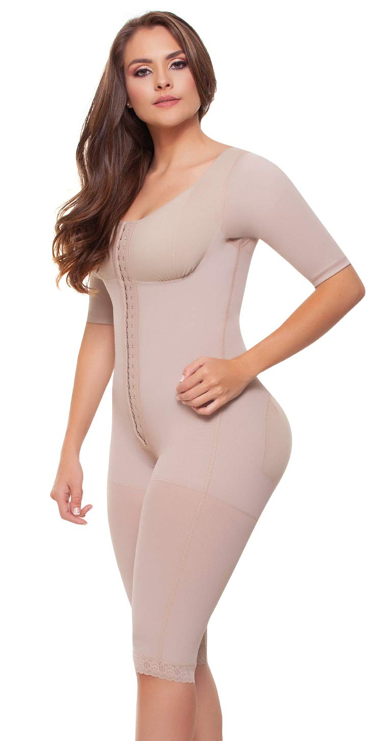 Fajitex Fajas Colombianas Reductoras y Moldeadoras High Compression Garments After Liposuction Full Bodysuit 023700