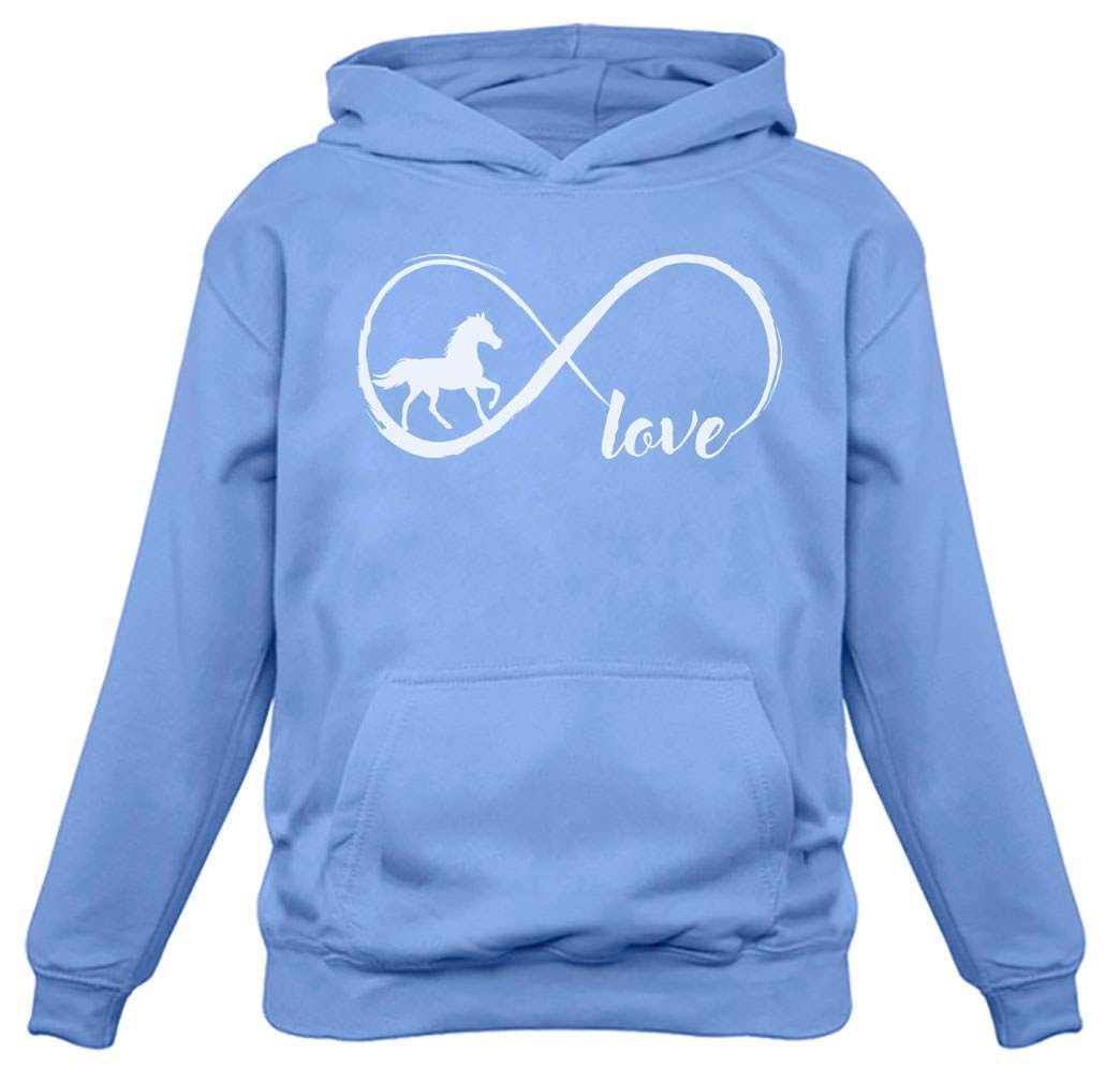 Gift for Horse Lover Infinite Love Women Horse Hoodie