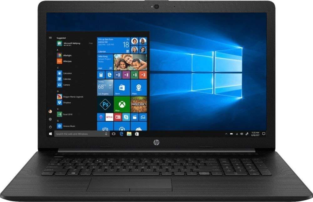 """2020 HP 17.3"""" HD+ Laptop Computer, 8th Gen Intel Quad-Core i5-8265U Up to 3.9GHz (Beats i7-7500U), 8GB DDR4 RAM, 256GB PCIe SSD, DVDRW, WiFi, HDMI, Black, Windows 10, BROAGE Mouse Pad"""