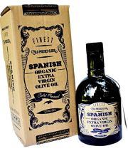 GringoCool Spanish 100% Organic Extra Virgin Olive Oil, First Cold Pressed, Single Source, 16.9 fl oz
