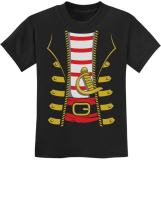 Halloween Pirate Buccaneer Costume Outfit Suit Youth Kids T-Shirt