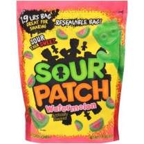 Sour Patch Watermelon Soft & Chewy Candy, 1.9 lb